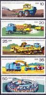 2017-0340 GDR 1977 Modern Technology In Agriculture Complete Set Mi 2236-2240 MNH** - Landwirtschaft