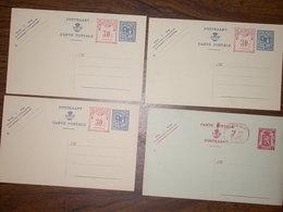 Belgique Lot De 28 Cartes Postales Neuves - Stamped Stationery
