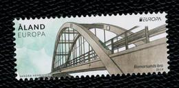 Aland 2018 Europa Bridges - Bomarsund Bridge 1v Complete Set  ** MNH - Aland
