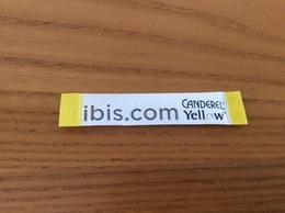 """Stick De Sucre """"ibis.com"""" CANDEREL Yellow Nº16 - Sugars"""