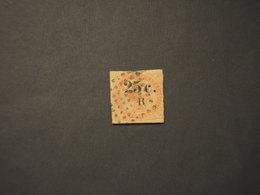 REUNION - 1859 ALLEGORIA 25 Su 40 - - TIMBRATO/USED - Oblitérés