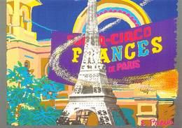 CPM - La Comète Et Paris - Evelyne Prieur - Image Réalisée Sur Palette électronique - Electro Techno Circa 1980 - Arts