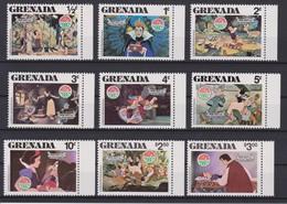 2217  WALT DISNEY - GRANADA  ( Christmas 1980 ) Christmas Illustratons With The Characters Of Walt Disney . - Disney