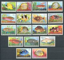 233 COCOS 1979/80 - Yvert 34/37 Et 40/52 - Poisson - Neuf **(MNH) Sans Trace De Charniere - Cocos (Keeling) Islands