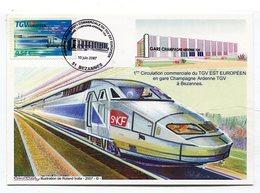 CPm 51 : Bézannes  Gare TGV   SNCF  Illustrateur Roland Irolla  A  VOIR  !!!!!!! - France