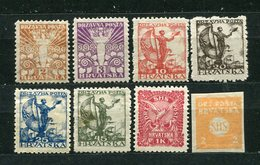 Jugoslawien Ex.Nr.88/98          *  Unused           (567) - 1919-1929 Royaume Des Serbes, Croates & Slovènes