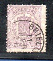 Pays Bas / N 18 / 2  1/2 Violet /  Oblitéré / Côte 95 € - 1852-1890 (Guillaume III)