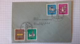 FDC Berlin   Mi.Nr. 348-51 (Zinnfiguren) Mit Sonderstempel Berlin 12 Vom 2.10.1969 - Berlin (West)