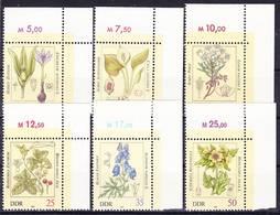 2017-0365 GDR 1982 Poisonous Plants Complete Set Mi 2691-2696 With Corner Margins MNH ** - Toxic Plants