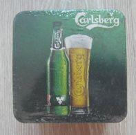 AC -  CARLSBERG BEER COASTER UNOPENED 50 PIECES PACKET - Portavasos