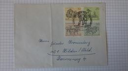 FDC Berlin   Mi.Nr. 338-41 (125 Jahre Berliner Zoo) Mit Sonderstempel Berlin 12 Vom 4.6.1969 - Berlin (West)