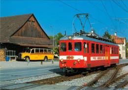 AK Eisenbahn Schweiz Mutzigen Frauenfeld-Wil-Bahn FW Thurgau Be 4/4 206 SUISSE Switzerland Ferrovia – Ferroviaire Rail - Eisenbahnen