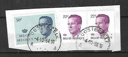 OCB Nr 2125 Boudewijn Baudouin Velghe Centrale Stempel Oosterzele - 1981-1990 Velghe