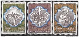 Vaticano 1974 Blf. 561/563 San Bonaventura Bagnoregio Nuovo MNH Full Set - Teologi