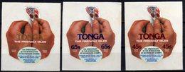 Tonga 1979 SGO190-O192 Death Centenary Of Sir Rowland Hill Set MNH Self-adhesive - Tonga (1970-...)