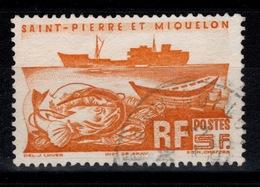 SPM - YV 338 Oblitere Cote 2,70 Euros - St.Pierre Et Miquelon