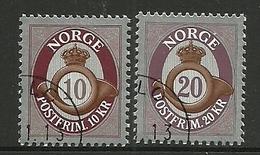 Norway 2013 Posthorn 10K + 20K  Y.T. 1783/1784 (0) - Norway