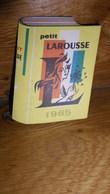 LAROUSSE Calendrier De Poche 1965 Dictionnaire En Trompe L'oeil - Librairie SOHIER Le Raincy 93 - Calendriers
