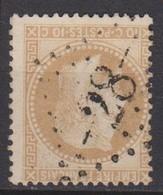 GC   28   AILLEVILLERS  (  69  -  HAUTE  SAONE  )  SUR 28B - 1849-1876: Klassieke Periode
