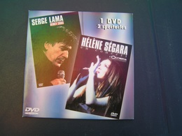 DVD SERGE LAMA Olympia 2000 HELENE SEGARA Bercy 2003 + Bonus MARIE PALE BELLE Chante BARBARA Bercy 2003 - Musik-DVD's