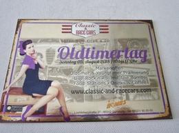 Carte Postale Automobile Publicitaire Oldtimertag Alfa Romeo - Passenger Cars