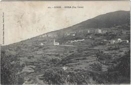 Corse Ersa Circulee En 1935 Timbre Décollé - France