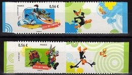 ADH 14 - FRANCE Adhésif N° 271 + 273 Neufs** Looney Tunes - France