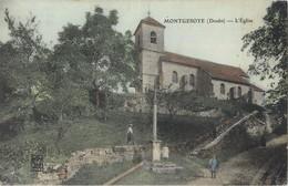 MONTGESOYE EGLISE 25 - Francia