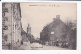 DOMPIERRE DU CHEMIN - LA GRANDE RUE - 35 - Sonstige Gemeinden