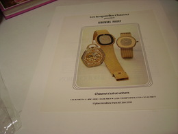 ANCIENNE PUBLICITE  MONTRE AUDEMARS PIGUET 1979 - Bijoux & Horlogerie