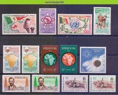 Msh006 * SMALL ASSORTMENT * MALI 1959-1965 PF/MNH - Mali (1959-...)