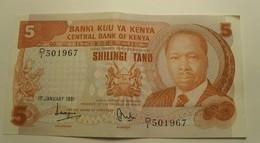 1981 - KENYA - 5 SHILLINGS - 1st January 1981 - 501967 - Kenya