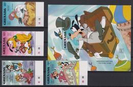 """2231  WALT DISNEY - GRANADA  ( """"Hafnia'87"""" Copenhagen Danmark ) Andersens Fairy Tale . - Disney"""