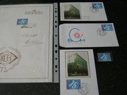 BELG.1988 2306 Zegel** FDC & Maxikaart + FDC Soie-zijde ,plus Groot Exemplaar Met Signatuur Ontwerper !! - 1981-90