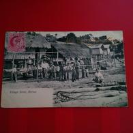 VILLAGE SCENE BURMA - Myanmar (Burma)