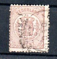 Pays Bas / N 13 / 1/2 Cent Brun  /   Oblitéré - Period 1852-1890 (Willem III)