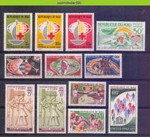 Msh008 * SMALL ASSORTMENT * MALI 1963-1966 PF/MNH - Mali (1959-...)