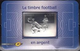 ADH 9 - N° 430 Le Timbre Football En Argent - France