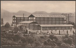 Great Western Tea Factory, Talawakelle, Ceylon, C.1910 - Imperial Institute Postcard - Sri Lanka (Ceylon)