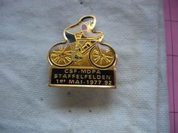 Pin's Cycliste: Velo Club Des CSF- MDPA (Mines De Potasse D'Alsace). 1er Mai 1977 - Cycling