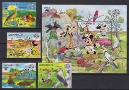 "2233  WALT DISNEY - GRANADA  ( ""SYDPEX '88"" )   Australian,Parrots,Lorikeets,Cockatoos And Rosellas - Disney"