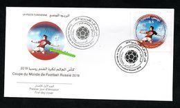 2018- Tunisia- Soccer World Cup- Russia 2018- Fifa - Football- FDC - World Cup