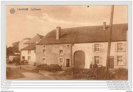 LAHAGE ..-- TINTIGNY ..-- Le Centre . Vers HAVRE LEZ MONS ( Melle M. LICOPE ) . Voir Verso . - Tintigny