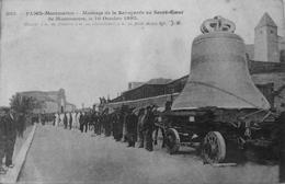 Montage De La Savoyarde Au Sacré Coeur De Montmartre Le 16 Octobre 1895 - Arrondissement: 18