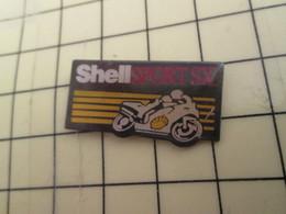 Sp15b Pin's Pins : Rare Et Belle Qualité / CARBURANTS : MOTO SHELL SPORT SX - Fuels