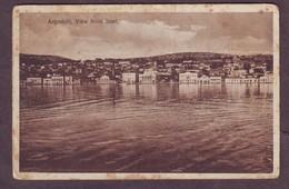 1920s Unused Greece Postcard Showing Argostoli View From Boat Ionian Islands Kefalonia - Greece