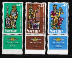 ISRAEL, 1961, Mint Never Hinged Stamp(s), Jewish New Year, 216-218,  Scan 17071, With Tab(s) - Israel