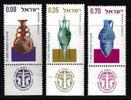 ISRAEL, 1964, Mint Never Hinged Stamp(s), Jewish New Year, 282-284,  Scan 17096, With Tab(s) - Israel