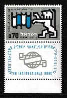 ISRAEL, 1965, Mint Never Hinged Stamp(s), Book Fair, 310,  Scan 17101, With Tab(s) - Israel