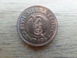 Sierra Leone  1/2  Cent  1964  Km 16 - Sierra Leone